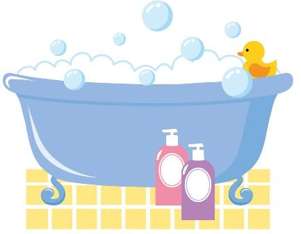 お風呂で何してる?